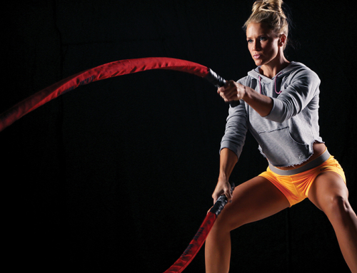THE BATTLE ROPES: LATEST ADDITION TO OUR HOTBOD CLASSES