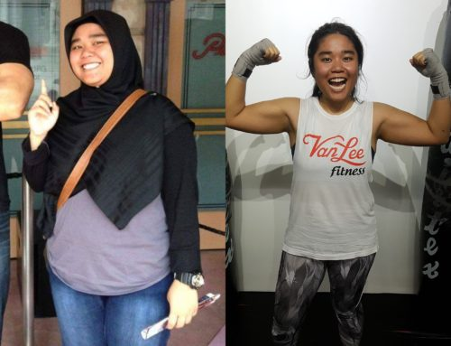 Atiqah's Weight Loss Journey At Van Lee Fitness